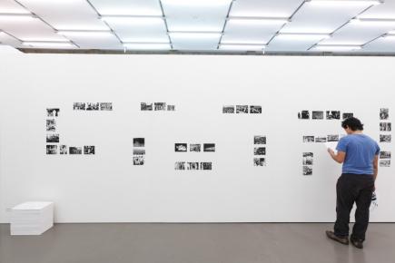 Maryam Jafri, Independence Day 1934-1975, 2009-present, installation view, Communitas, Camera Austria 2011. Courtesy of the artist.