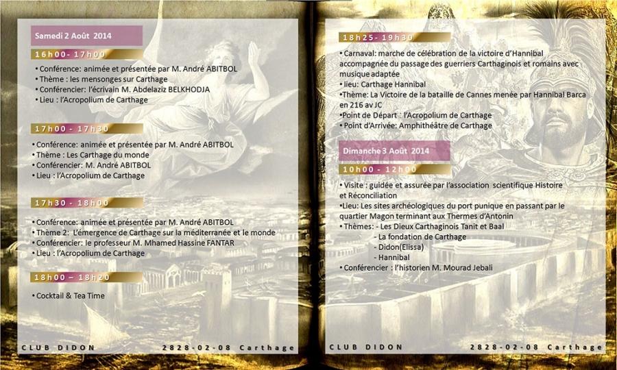 Carthage 2828 Programme