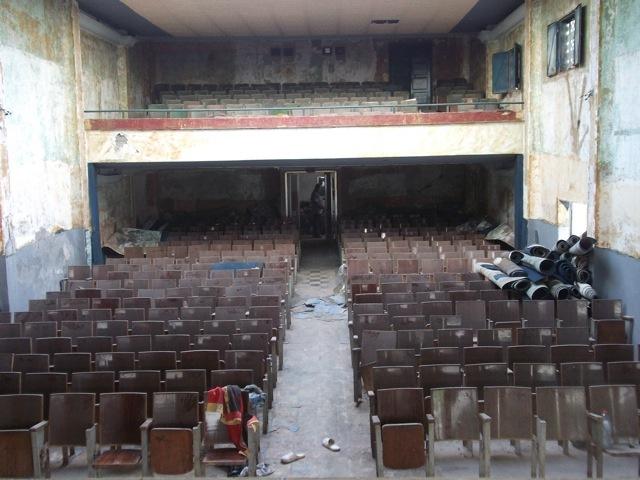 Cinevog building before renovation. Courtesy of the Kamel Lazaar Foundation.