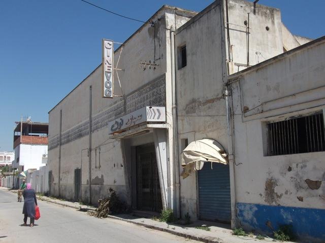 Cinevog building before renovation. Courtesy of the Kamel Lazaar Foundation