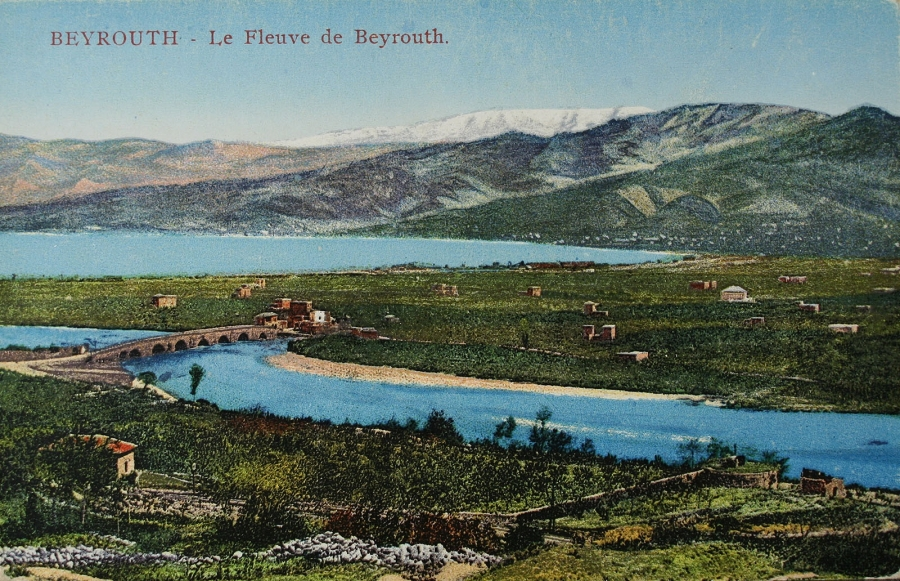 Beyrouth, le Fleuve de Beyrouth. ®The Fouad Debbas Collection, Beirut. Used with permission.