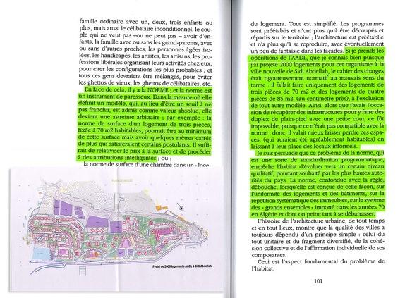 Texte : Excerpt from Fantasmes et réalités : Réflexions sur l'Architecture.