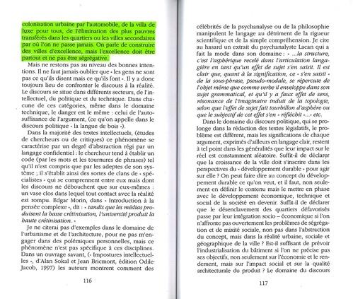 Excerpt from Fantasmes et réalités : Réflexions sur l'Architecture.
