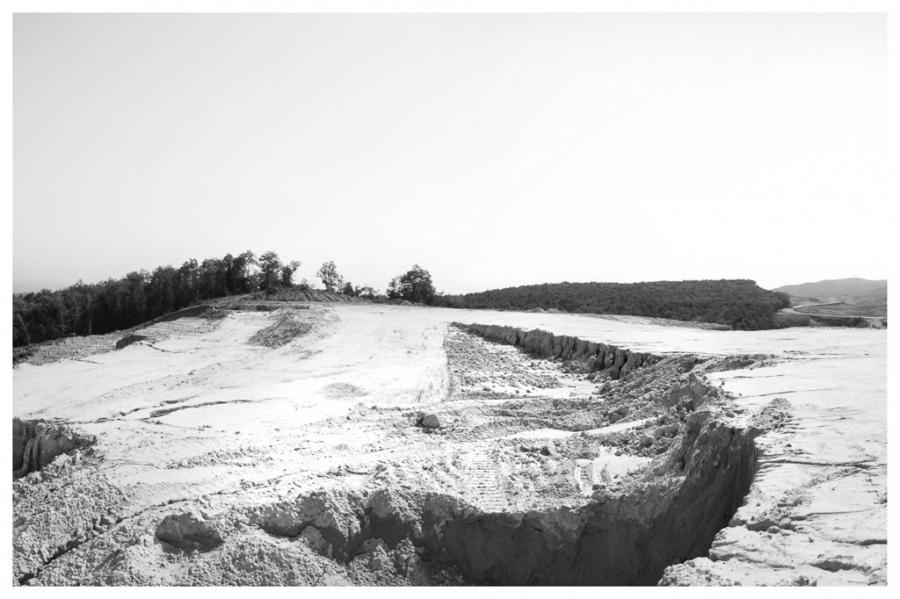 Sibel Horada, Third Bridge Deforestation Site, 2014. © Sibel Horada.