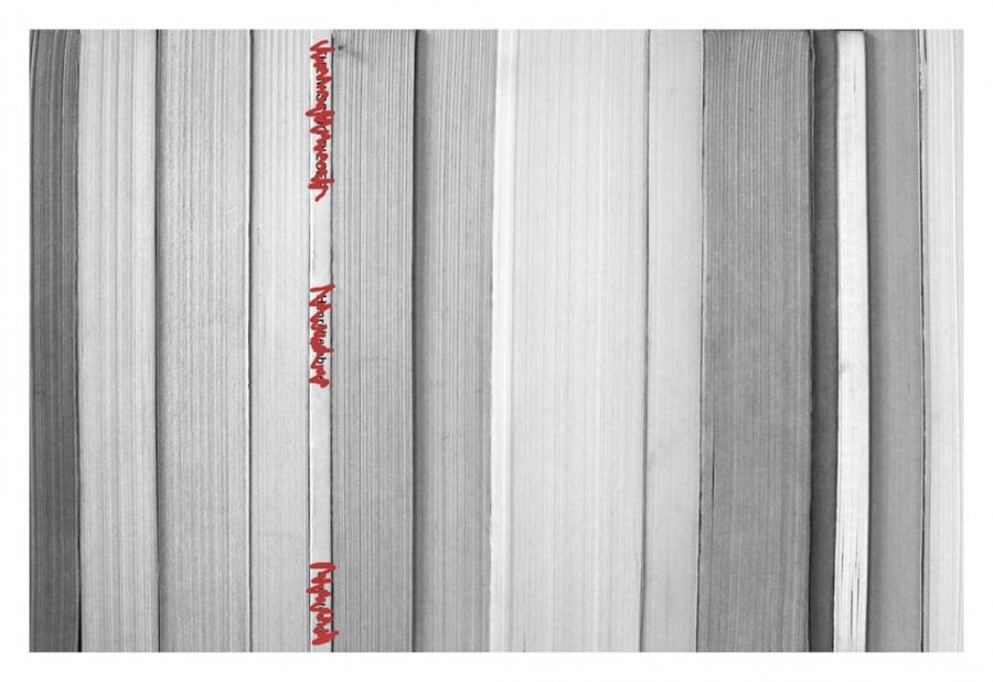 Sibel Horada, bibliographical accumulation, 2014. © Sibel Horada.