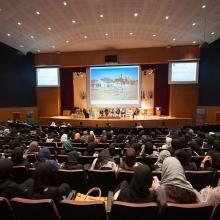 «الفن العالمي المعاصر وشبكاته»، جامعة دار الحكمة، المملكة العربية السعودية.